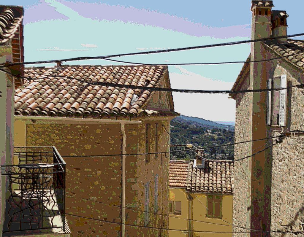 Mougins rooftops