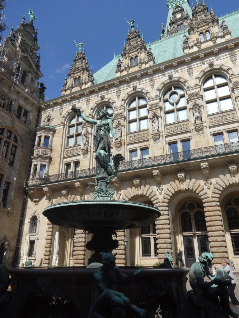 In and around the Rathaus