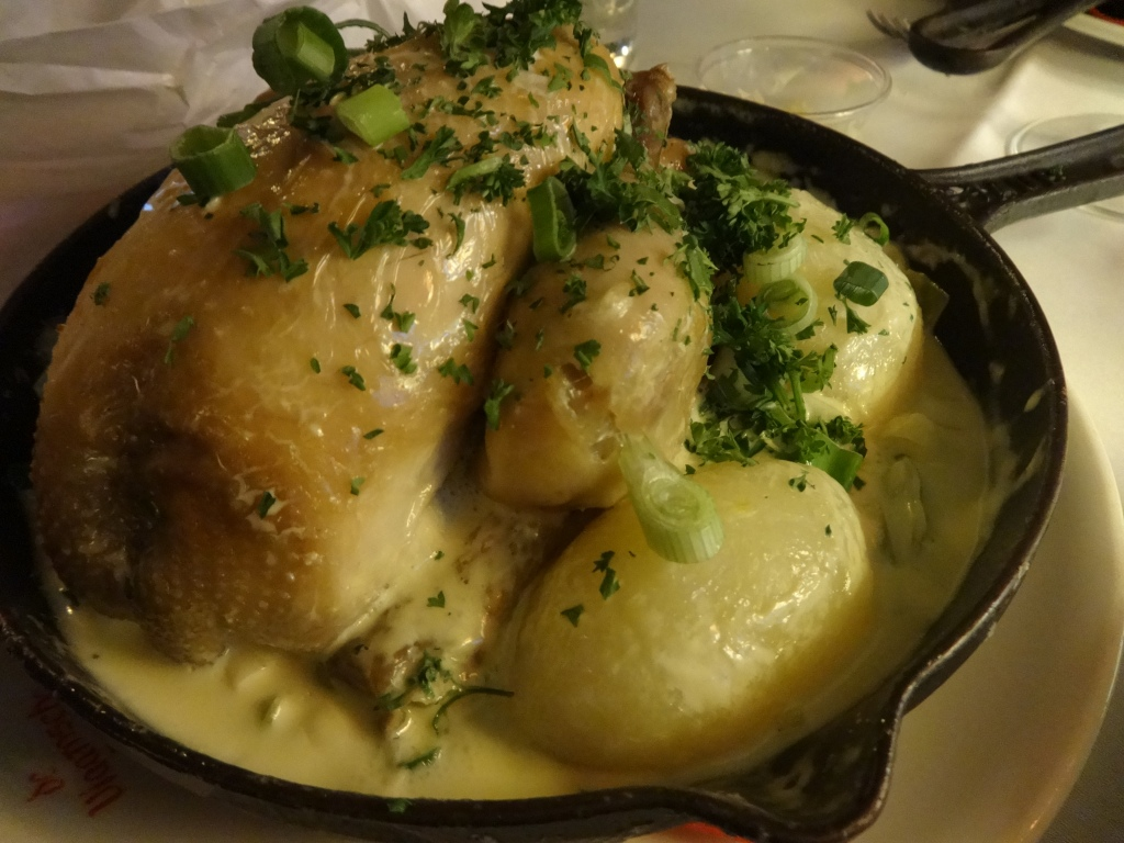 Chicken at the Flemish pot