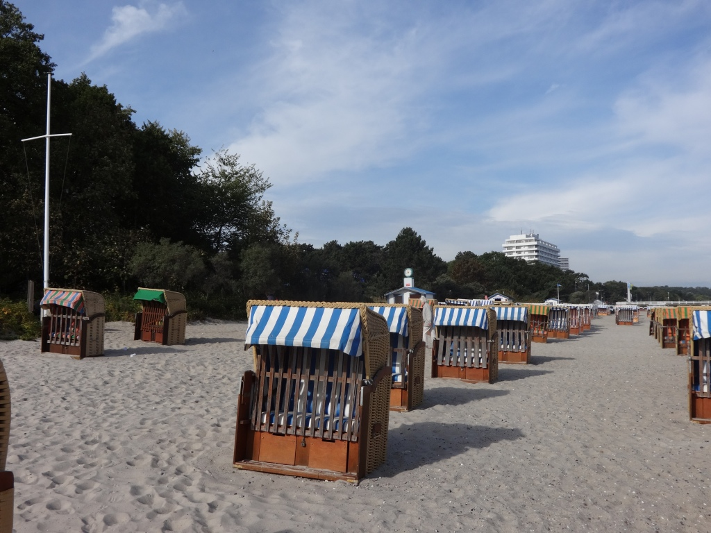 Famous North Sea beach chairs