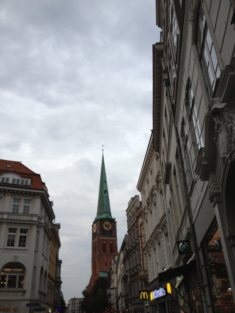 Spire in Lubeck