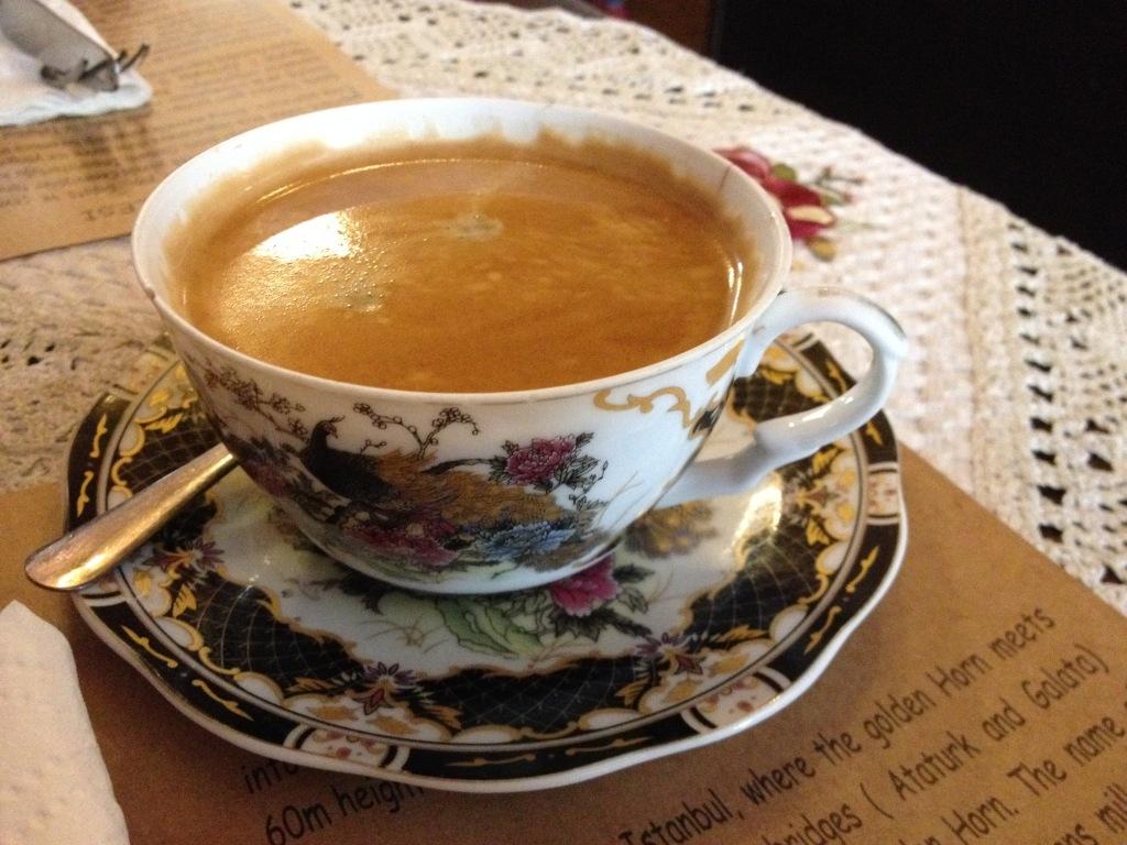 Fantastic coffee at Privato Cafe.