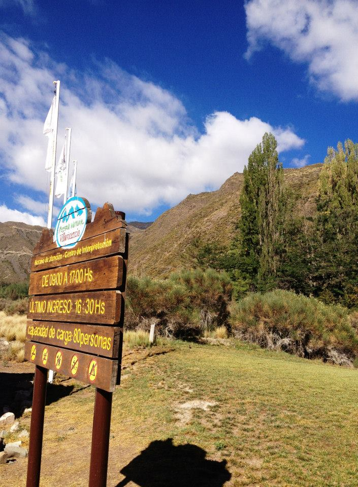 The beginning of the Andes in Argentina