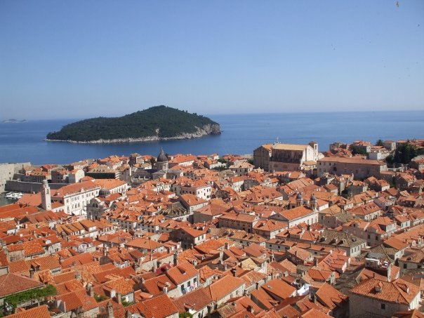 Roofs of Dubrovnik.